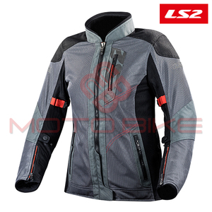 Jakna LS2 ALBA LADY DARK GREY BLACK M