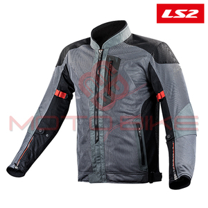 Jakna LS2 ALBA MAN DARK GREY BLACK M