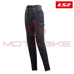 Pantalone LS2 ROUTER LADY BLACK L
