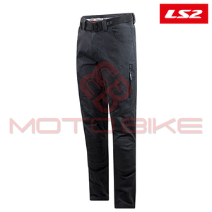 Pantalone LS2 STRAIGHT MAN DARK GREY 3XL